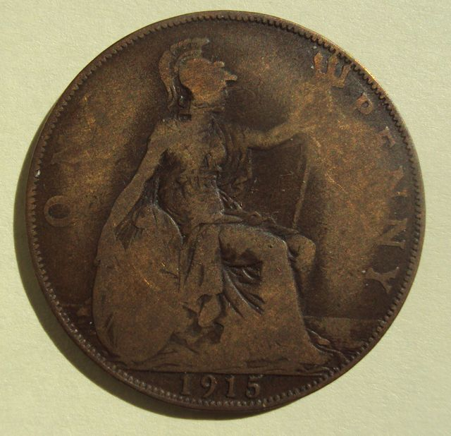 1915 Penny Image
