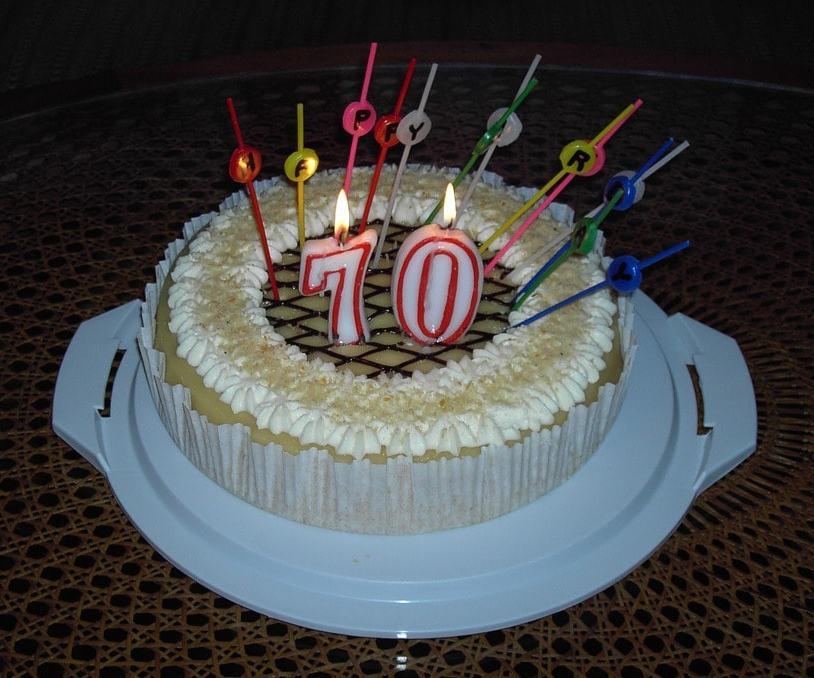 70th Birthday Image
