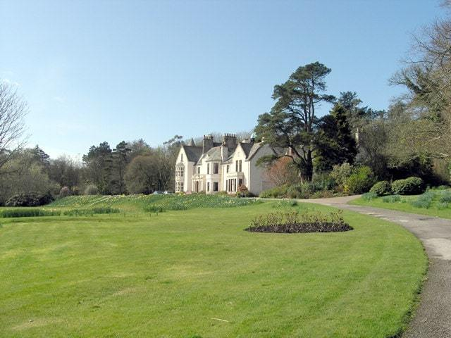 Achamore House mansion on the Isle of Gigha, Scotland