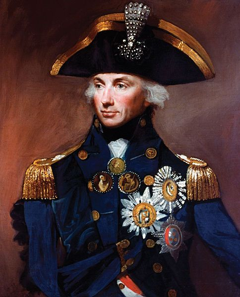 Admiral Painting Image