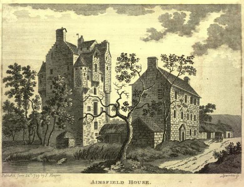 Amisfield Tower, a well-preserved tower house near Tinwald, Dumfriesshire, Scotland