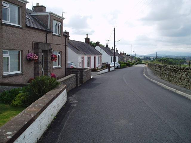 Amisfield village in Dumfries and Galloway, Scotland