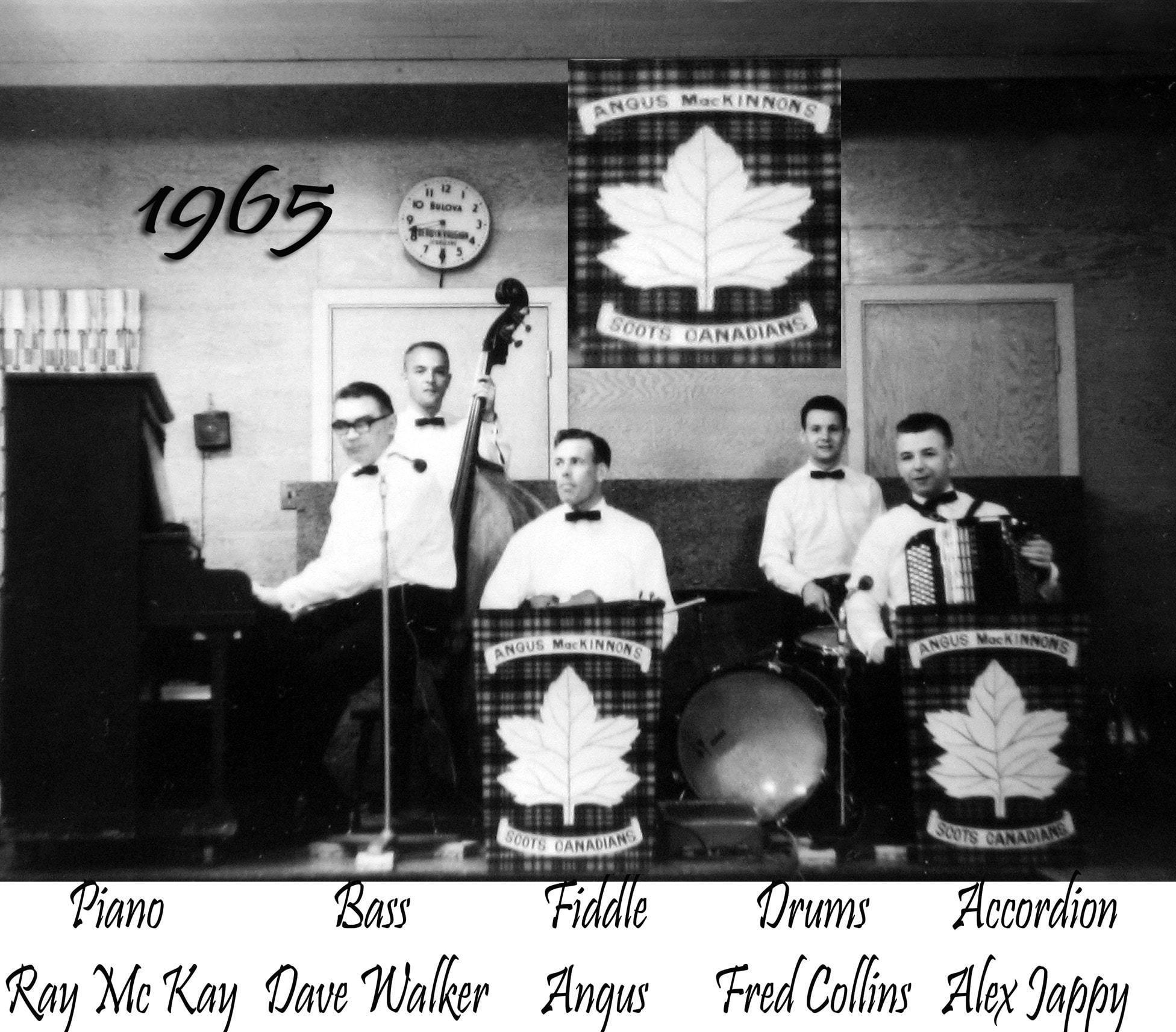 Angus MacKinnon And The Scots Canadians Image