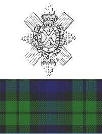 Angus MacLeod Black Watch Cap Badge Image