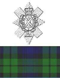 Angus MacLeod Black Watch Cap Badge