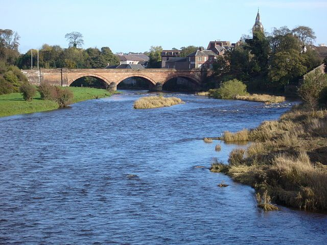 Annan Skyline And Bridge Image