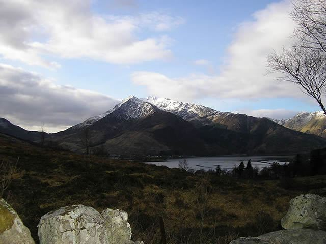 Peaks Beinn a' Bheithir Autumn In Appin Image