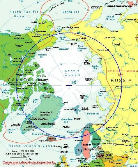 map of arctic circle. Arctic Circle Picture Map Of