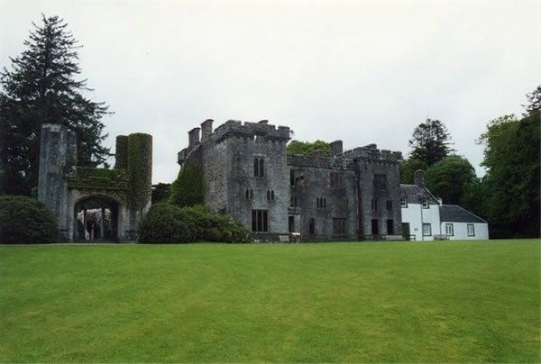 Armadale Castle, a country house in Armadale, now ruined