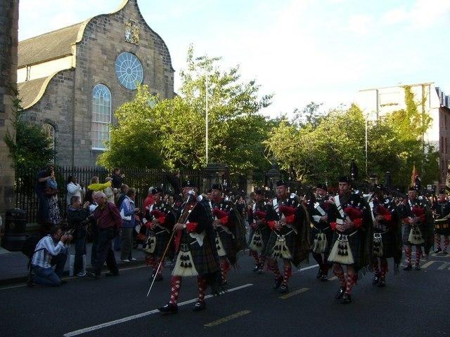 Atholl Highlanders Image