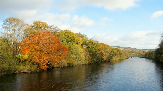 Autumn in Pitlochry, area of Perth and Kinross, Scotland