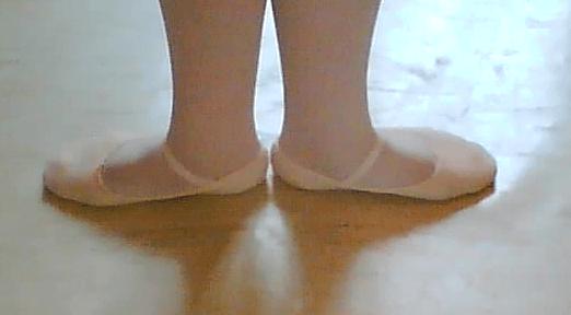 Diagram, Ballet Dancer First Position