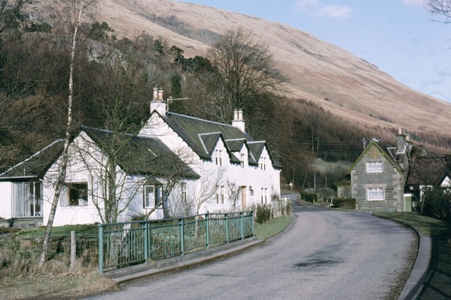 Balquidder, a small village at the head of Loch Voil in Stirling, Scotland