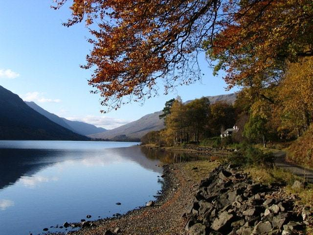 Taken from the roadside at Loch Voil, to the west of Balquhidder, Stirling, Scotland