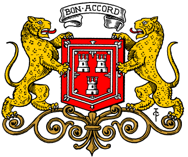 Armorial bearings of Aberdeen - Bon Accord Image