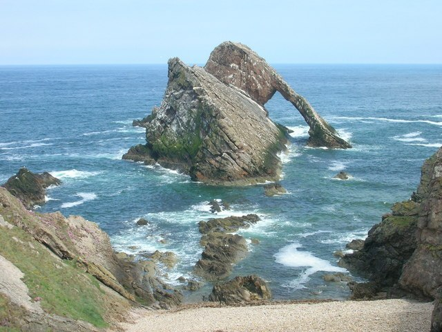 Bow Fiddle Rock Image