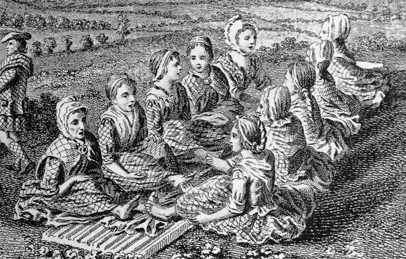 Bratach Bàna Of Scotswomen Waulking Cloth Image