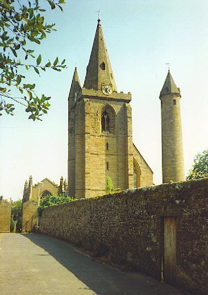 Brechin Lassies Cathedral And Round Tower Image