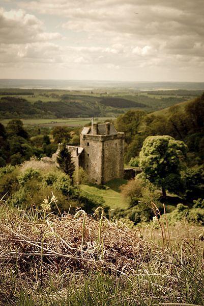 The Burn Of Sorrow Alongside Castle Campbell Image