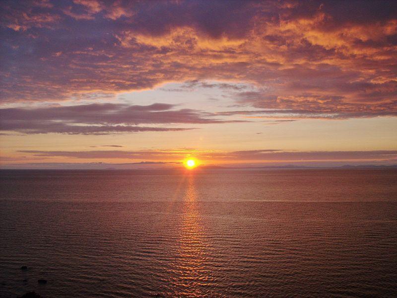Cardigan Sunset Image