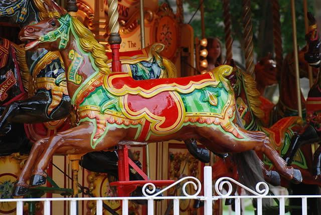 Carousel Horse Image