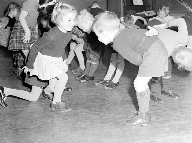 Rosedale School Children Dancing Image