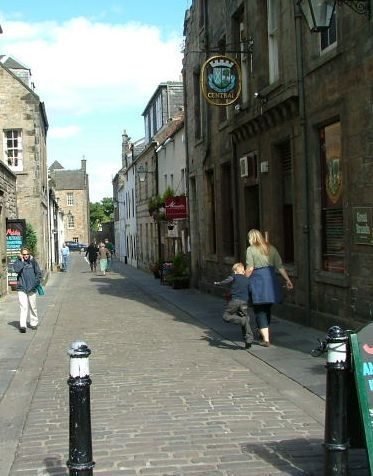 Summer School Walk Down South Street, St Andrews Image