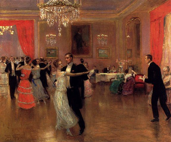 Circle Waltz Painting Image