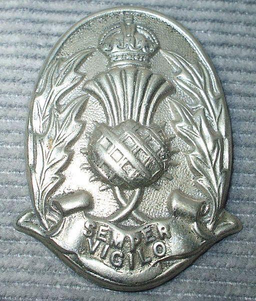 City of Dundee Police Helmet Badge Image