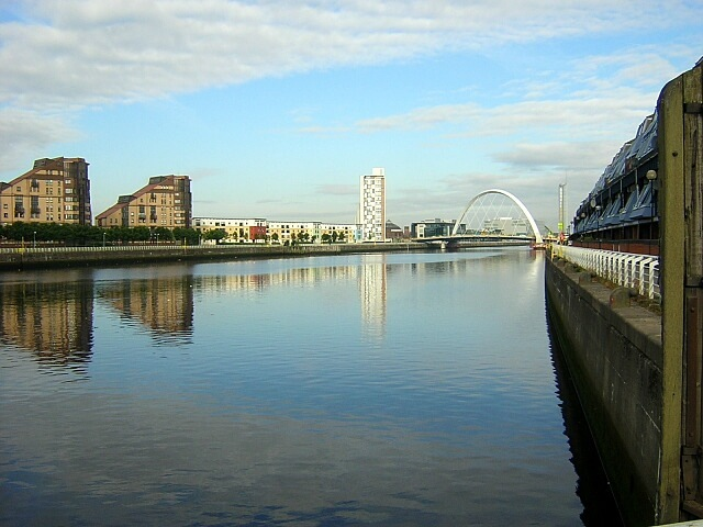 River Clyde In Sun Image