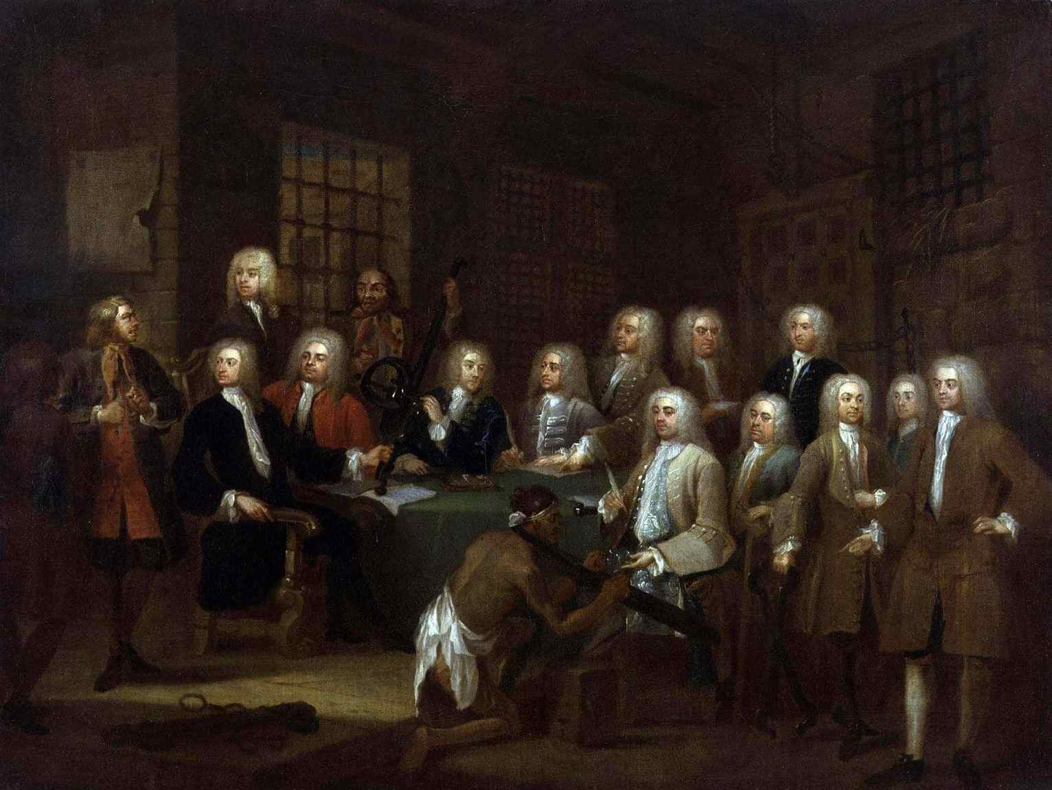 The Committee Meeting, Rococo, The Gaols Committee of The House Of Commons, Hogarth