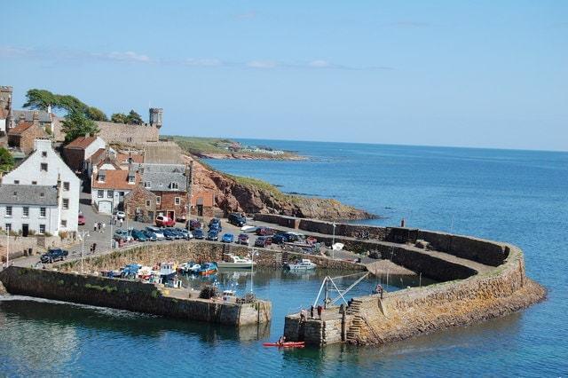 Crail Harbour Image