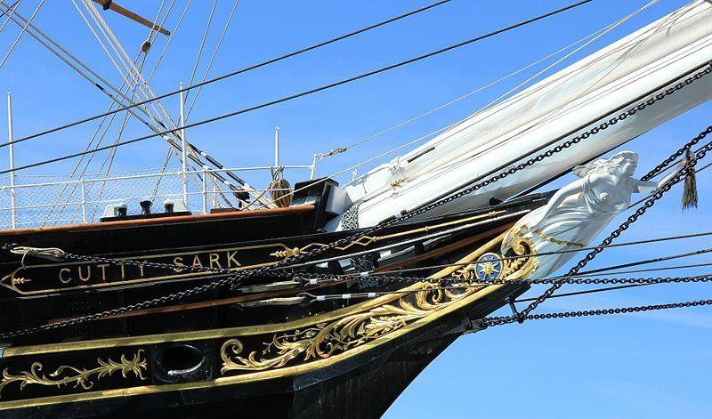 Cutty Sark Under Sail Image