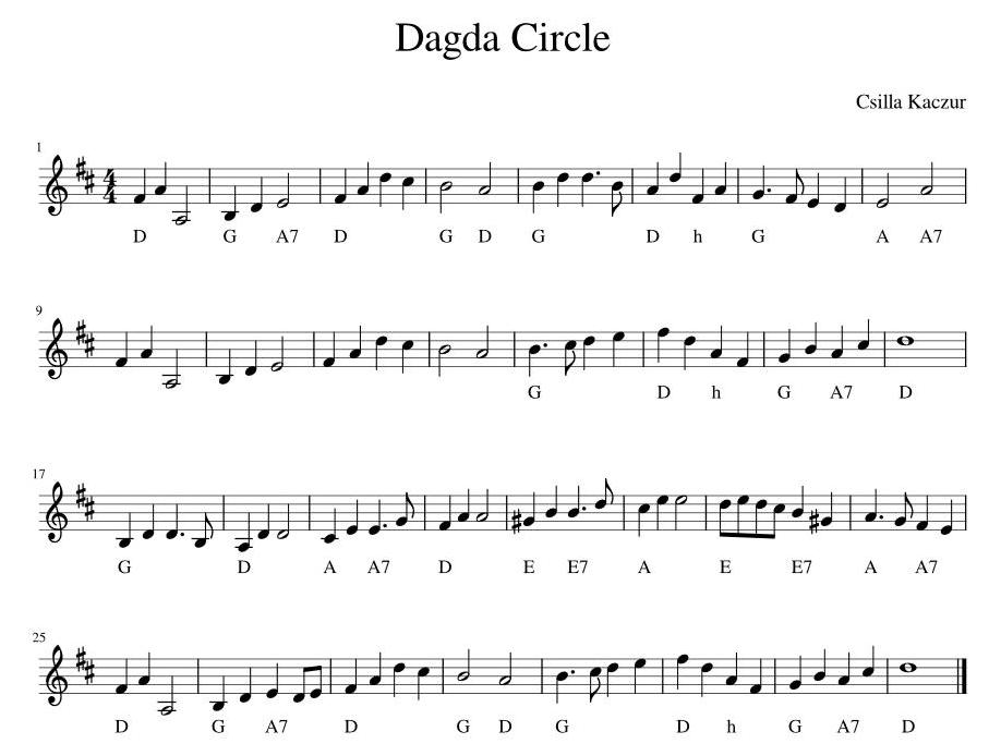 Dagda Circle Image