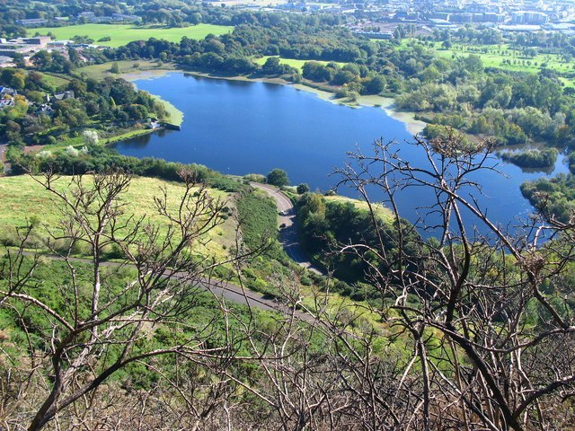 Duddingston Loch, Holyrood Park, Edinburgh Image