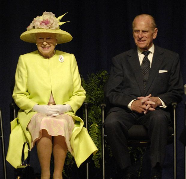 HM Queen Elizabeth and Prince Philip Image