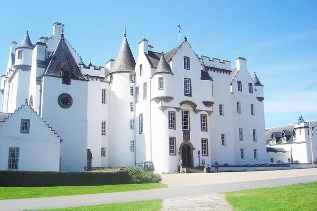 The Duke Of Atholl's Residence Blair Castle Image