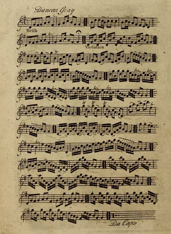 Duncan Gray, From Inglis Collection Of Printed Music