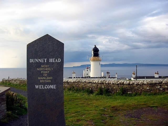 Dunnet Head most northerly point of mainland Britain