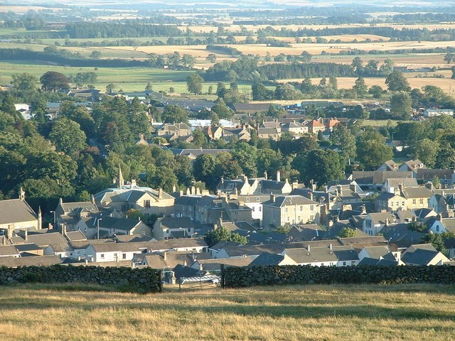 Dunse - Berwickshire County Town Image