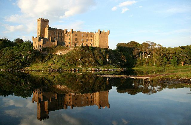 Dunvegan Castle On The Isle Of Skye Image