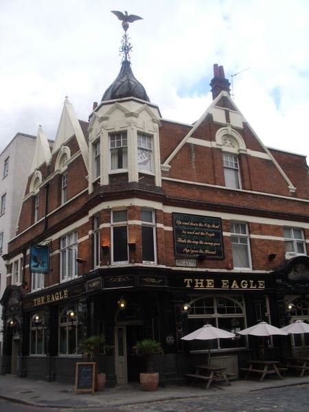 Eagle Pub, City Road, London, Image