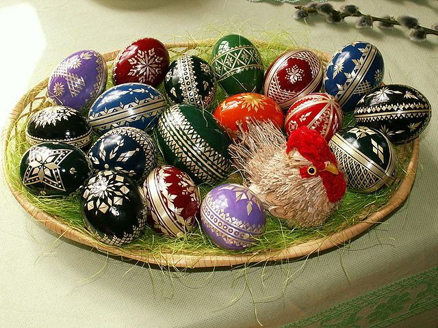 Easter Egg Dance Instructions