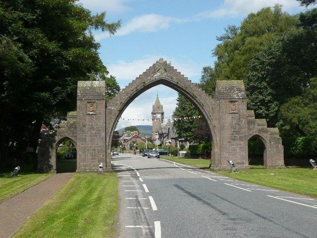 Edzell Arch Image
