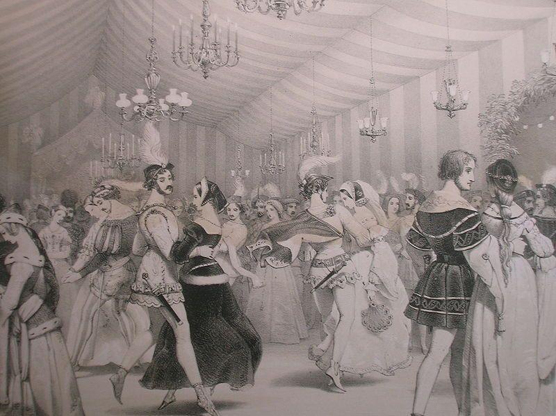 Ballroom At Eglinton Castle Image