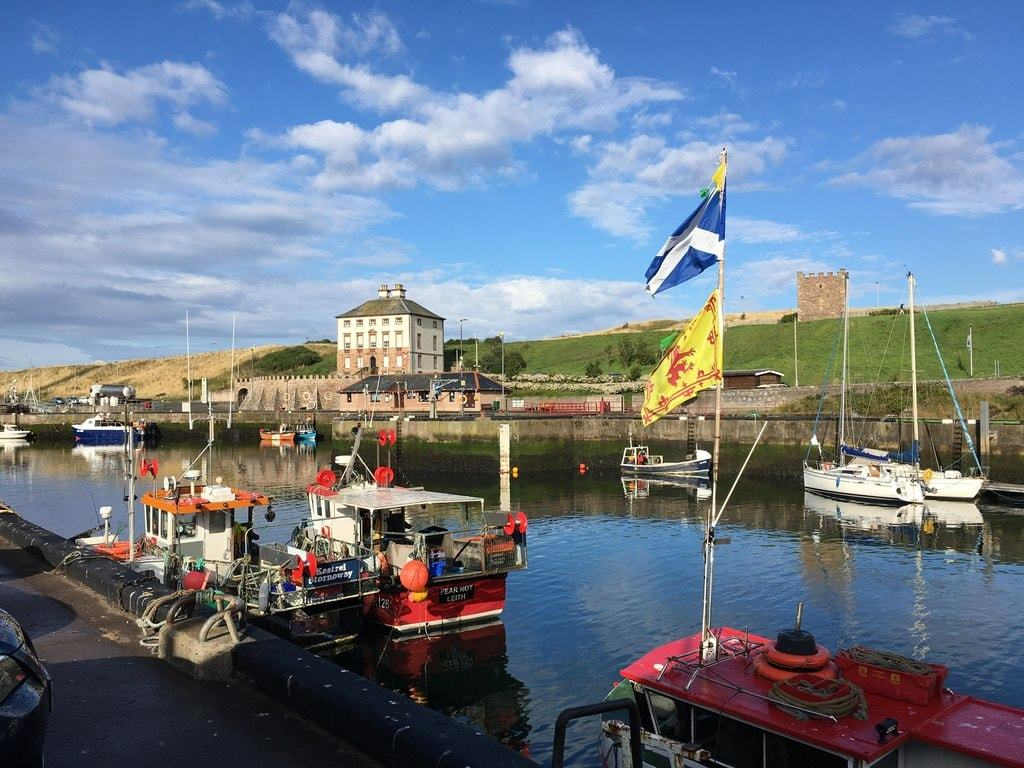 Eyemouth Harbour Image