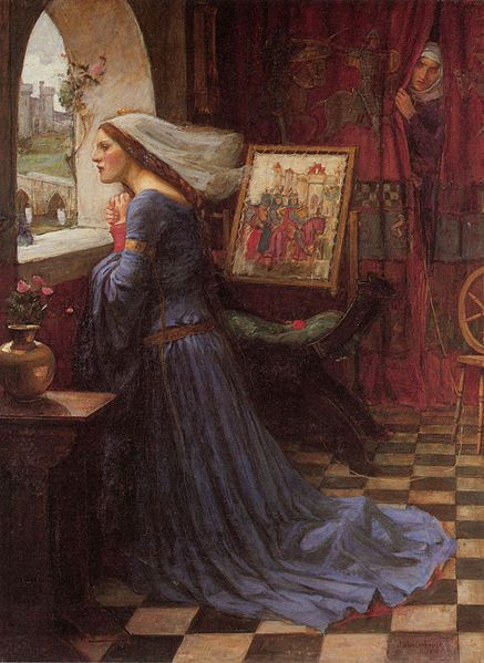 Fair Rosamund Painting Image