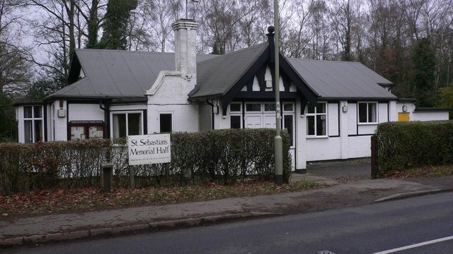 Farewell To Finchampstead, St Sebastian's Memorial Hall