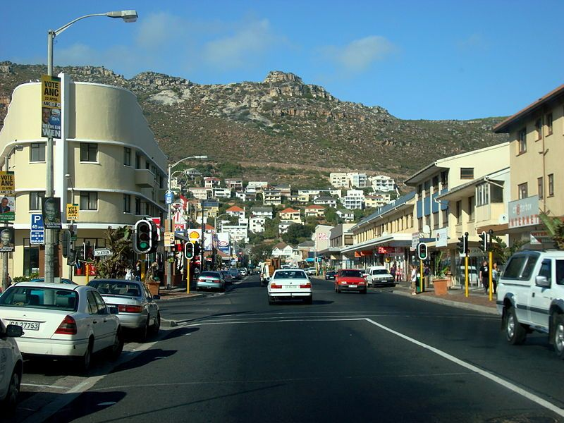 Fish Hoek Cape Town South Africa Image