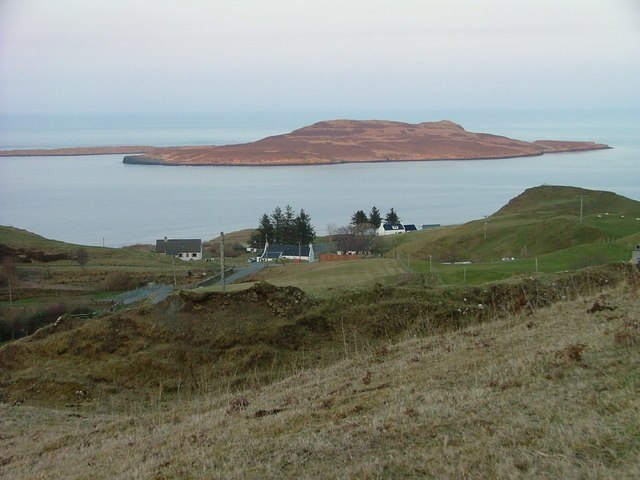 Flodigarry With Eilean Flodigarry